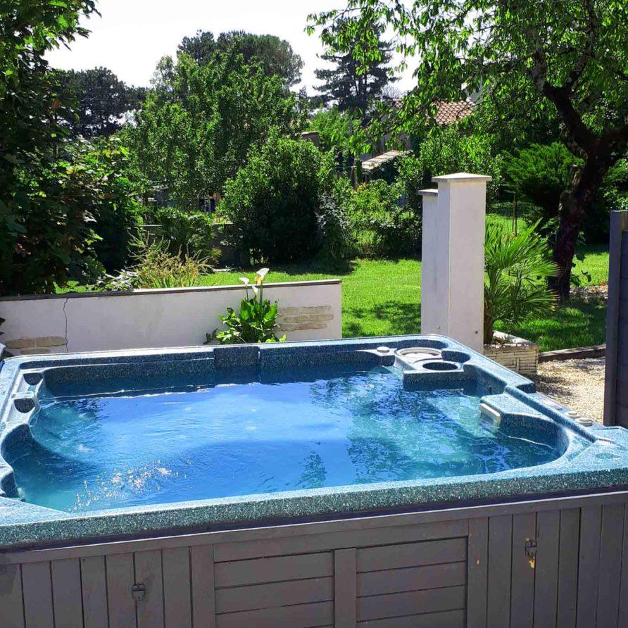 Location vacances a Meschers sur Gironde avec Spa