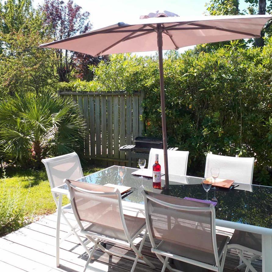 Location vacances Cottage de Lulu a Meschers sur Gironde avec jardin et spa