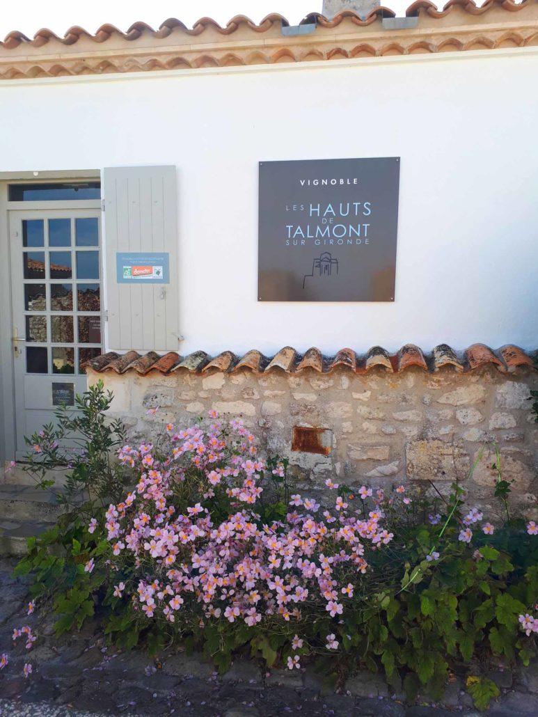Vignoble de Talmont-sur-Gironde