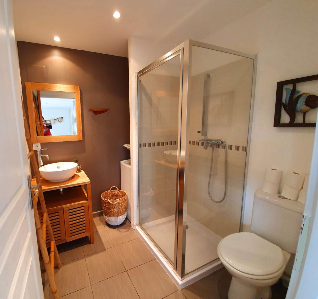 Gite Meschers cottage de lulu salle de bain