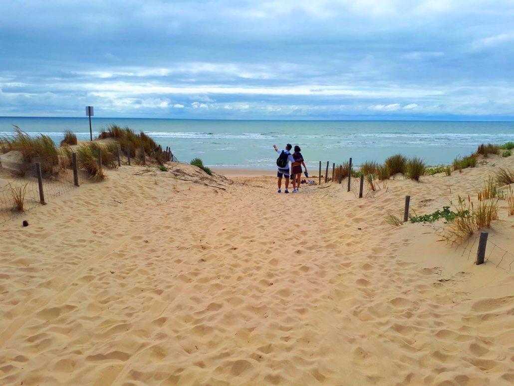 plage de la Palmyre