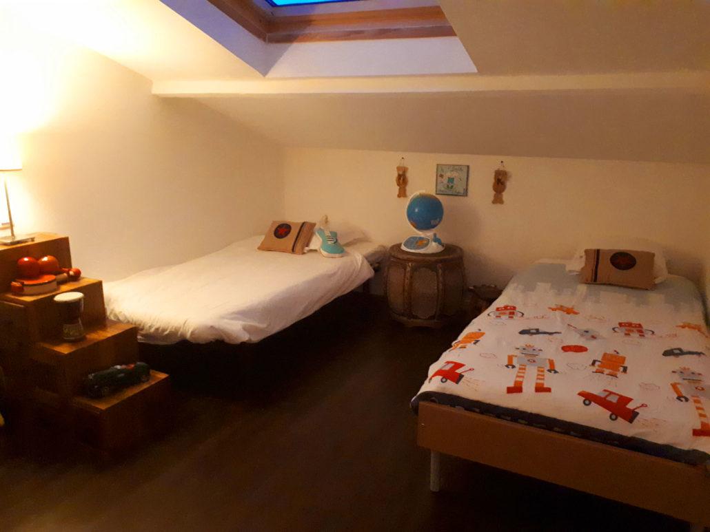 gite de vacances Meschers sur Gironde chambre enfant