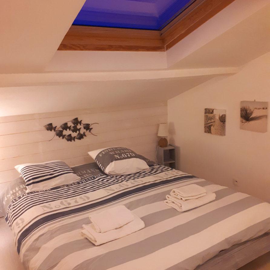 Location vacances Meschers sur Gironde la Villa Lucas Chambre parentale