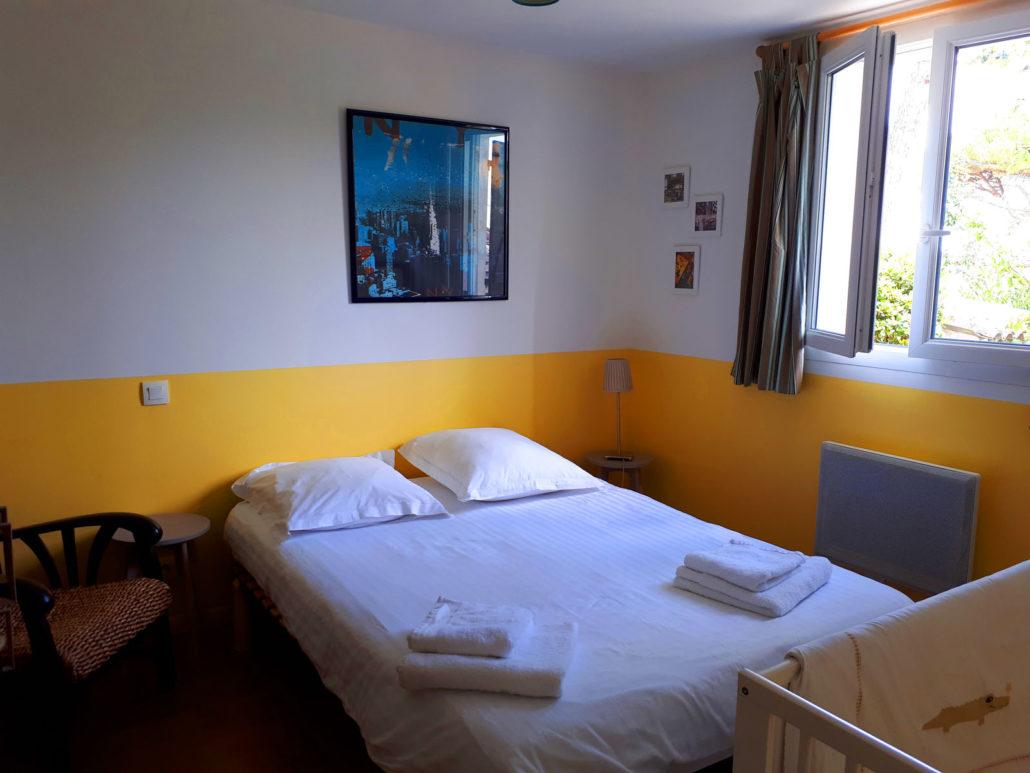 Gite de vacances à Meschers sur Gironde chambre rez de chaussée